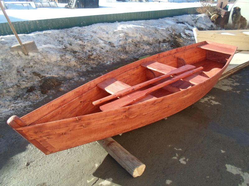 купить деревянную лодку в москве недорого