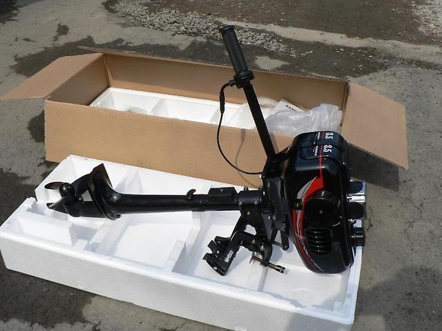 фото лодочный мотор hangkai