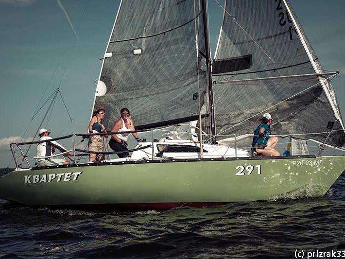 квартет и на лодке