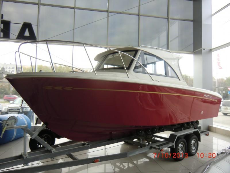 большие катера с подвесным мотором бу