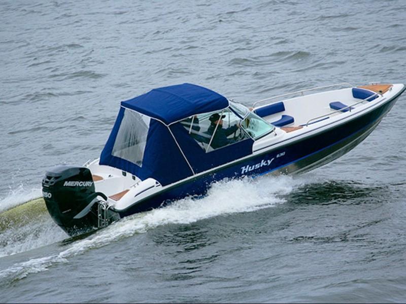 лодка сильвер хаски цена