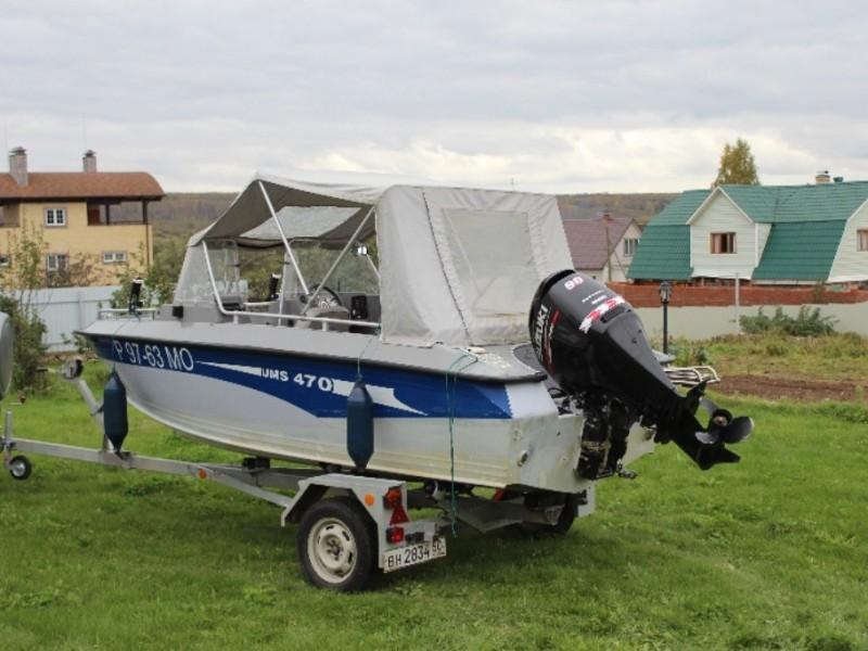 лодка umc 470