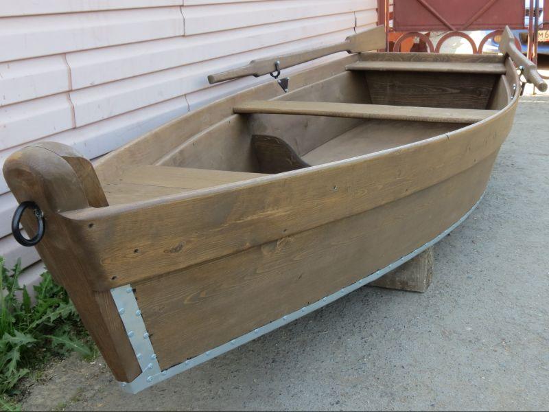 деревянная лодка под лодочный мотор