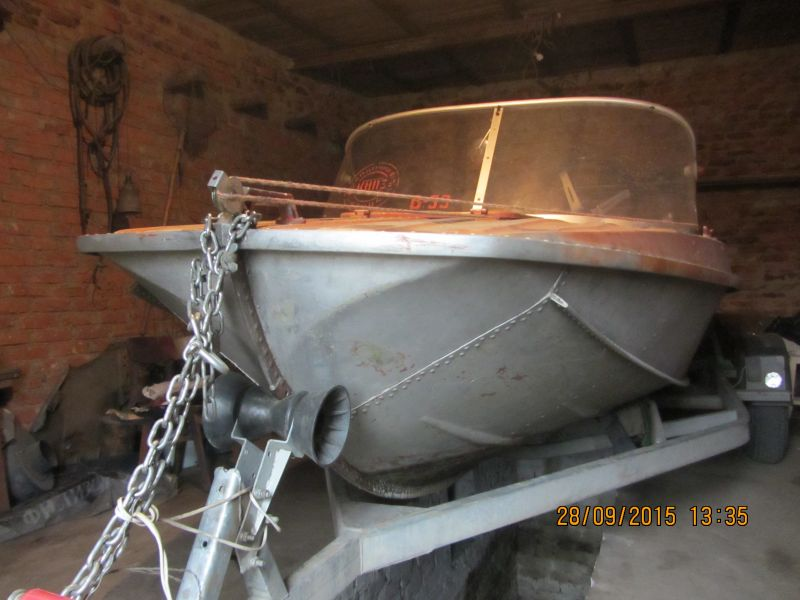 прицепа для лодки казанка 5м4