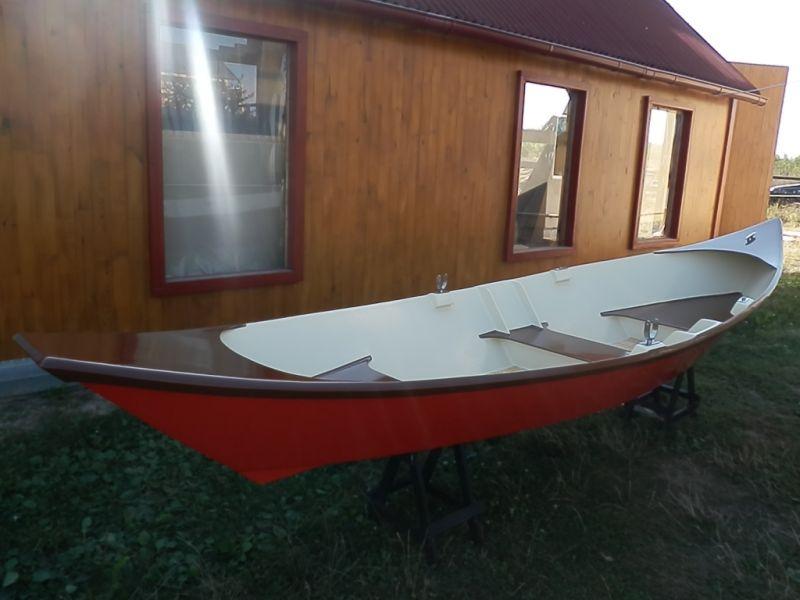 Гребные лодки своими руками