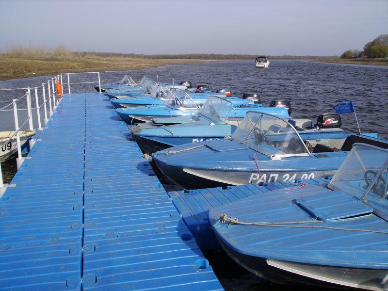 стоянка для лодки