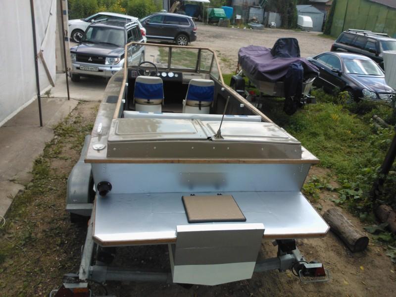 Переделка катера амур под подвесной мотор фото своими руками
