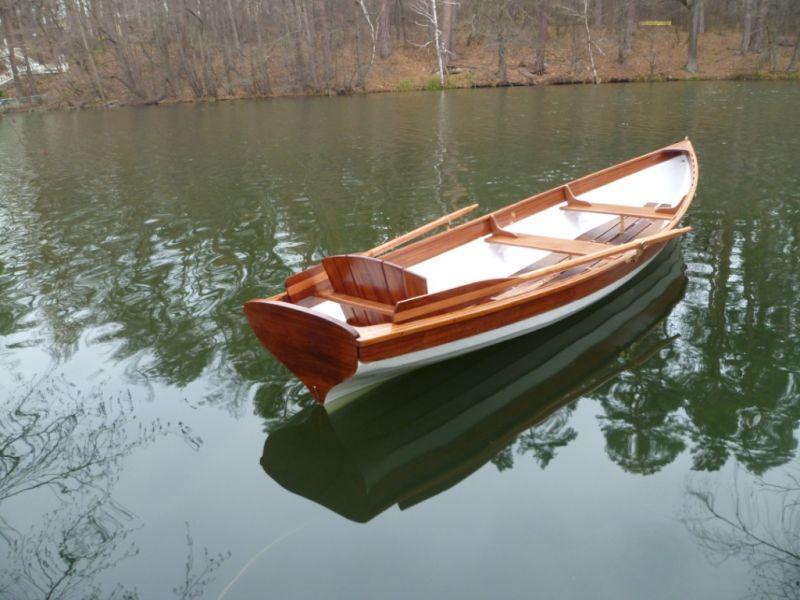 виды весельных лодок