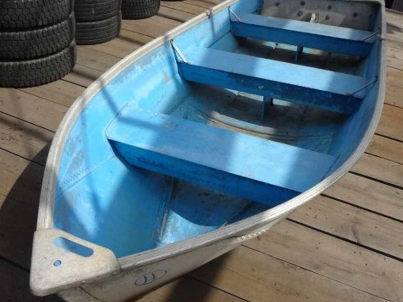 японская алюминиевая лодка