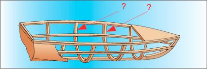 шпангоуты лодок