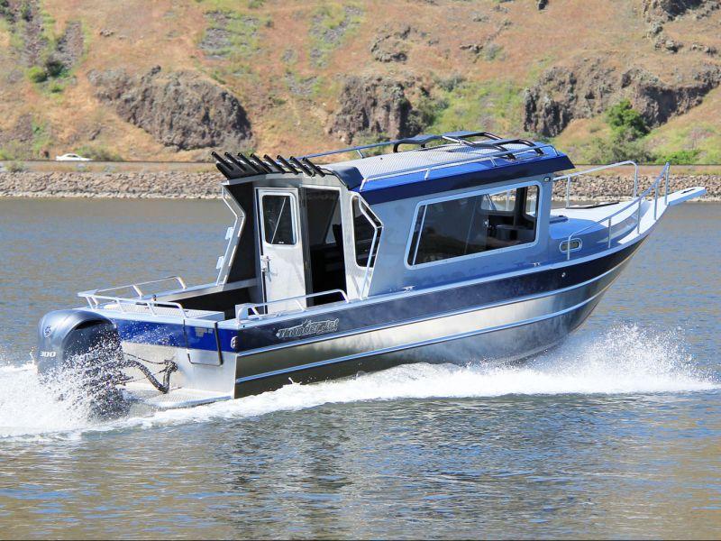 речные катера и лодки для рыбалки