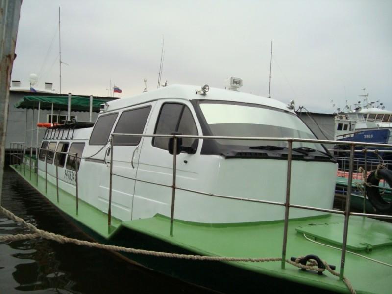 Водометный буксирный катер пр. № КС-100