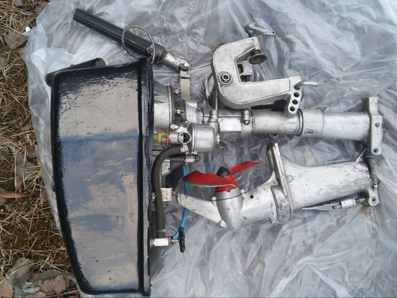 модернизация лодочного мотора салют 2 э