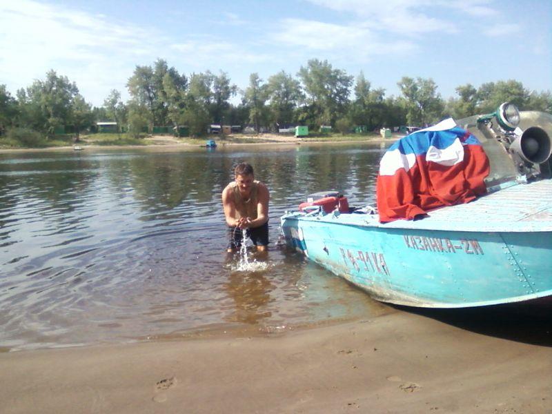 кататься на лодке самары